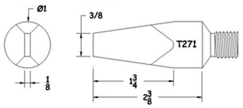 hexacon t271 copper screw